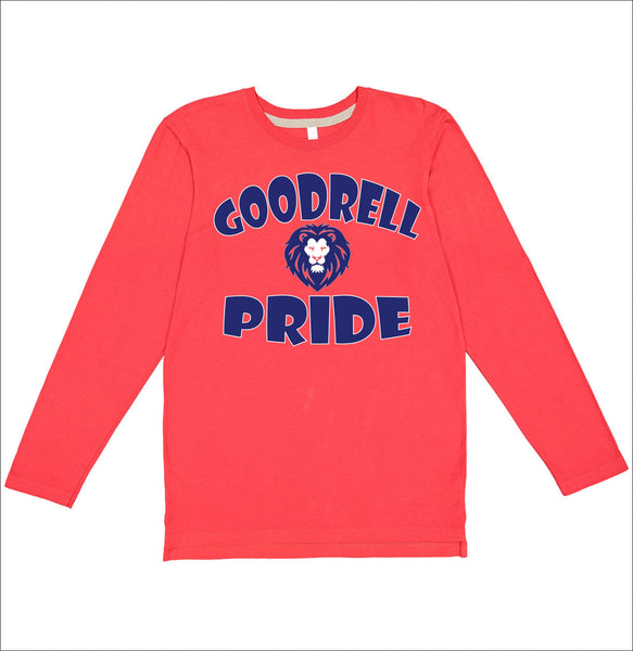 Goodrell Lion Pride Long Sleeve Tee