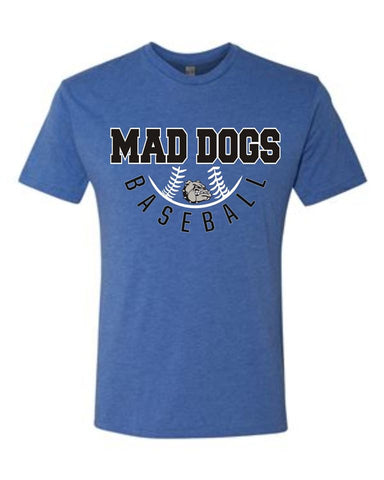 Mad Dogs Cycle Triblend Tee