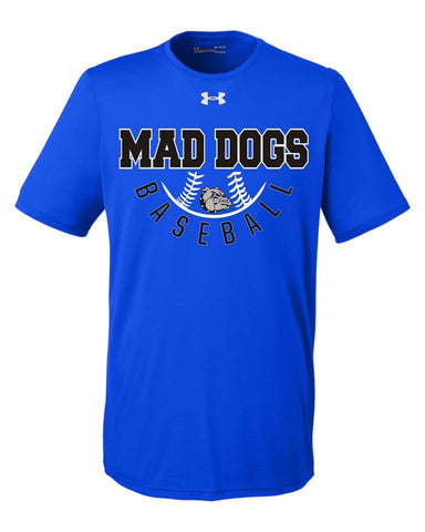 Mad Dogs Cycle Under Armour Tee