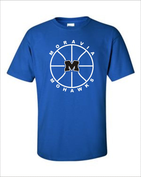 Moravia Basketball 6th Man Tee