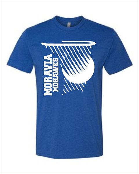 Moravia Basketball Splash CVC Tee