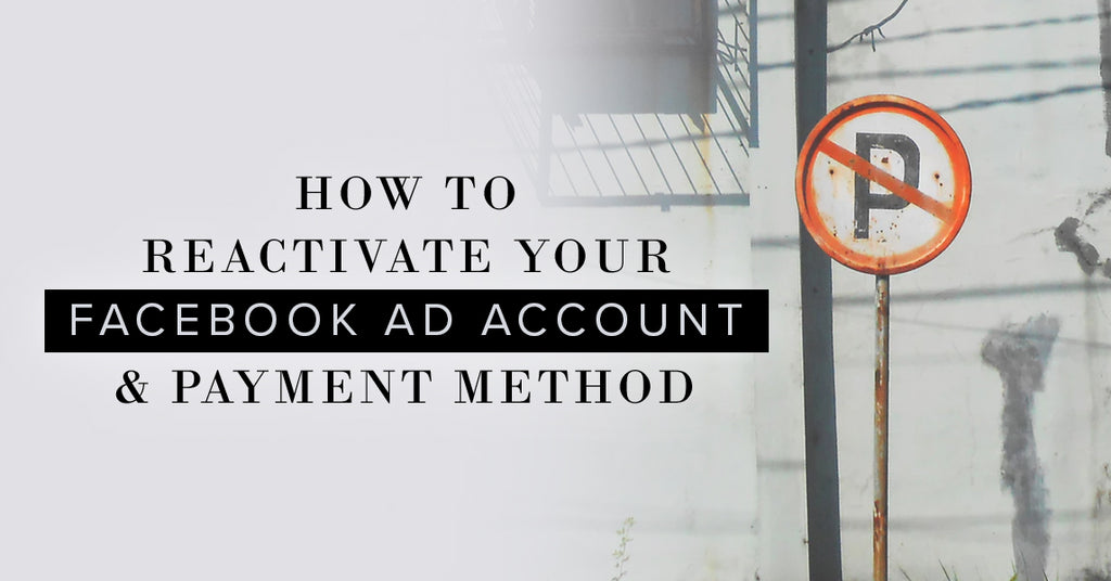 How To Reactivate Facebook Account & Payments