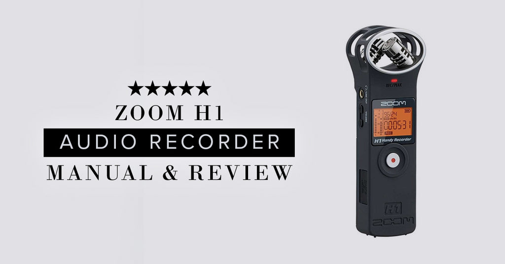 Zoom H1 Manual & Review of Sound Quality Hickey Media