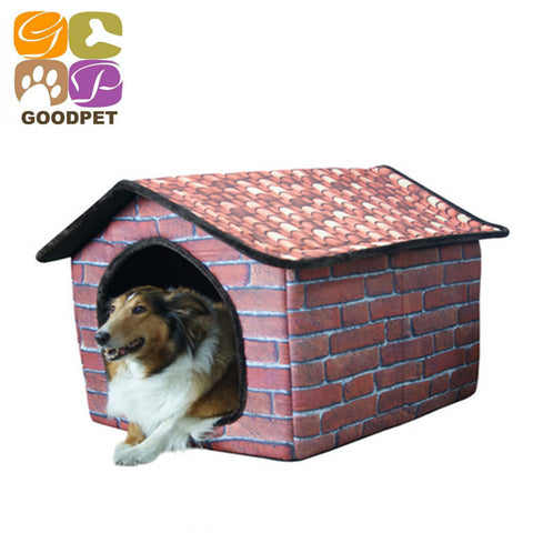 Indoor dog kennel