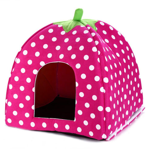 Pink doggy Indoor Kennel