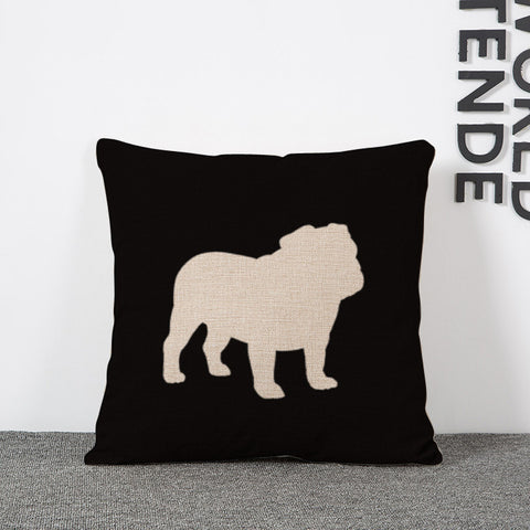 Dog Decorate Pillow Cushions