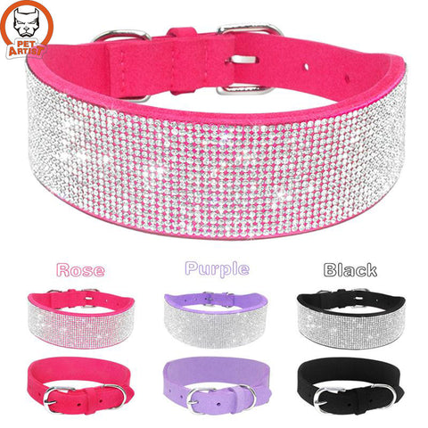 Diamante Dog Collars