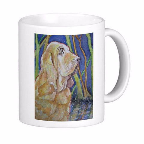 Bloodhound Hunting Dog Mug