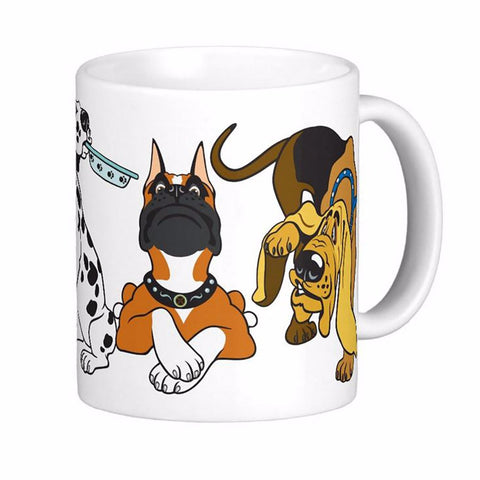 Cartoon Dog Mug