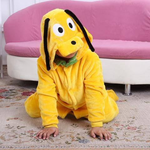 Children Unisex onesie Yellow Doggy