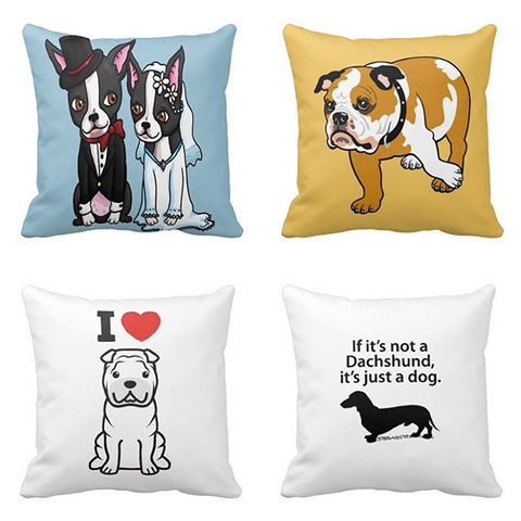 4 Styles Pillow Case