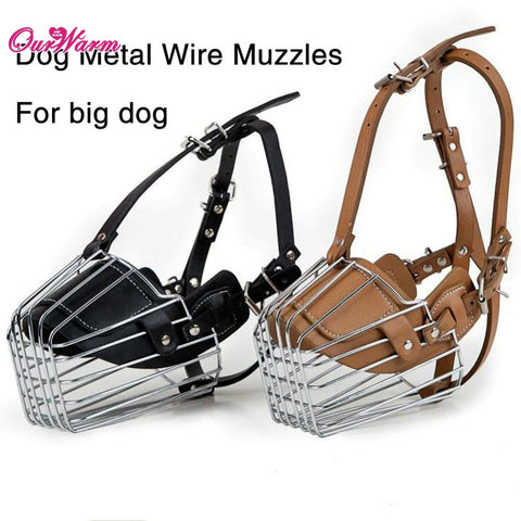 Adjustable Dog Muzzle steel