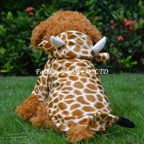 Giraffe doggy clothes