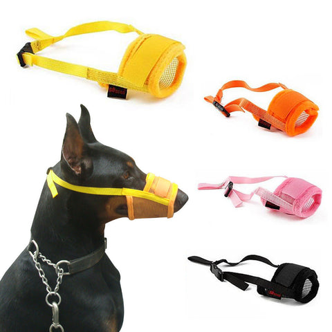 Dog Muzzle 4 Colors