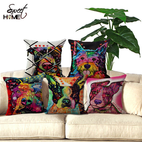Colored Pillowcases