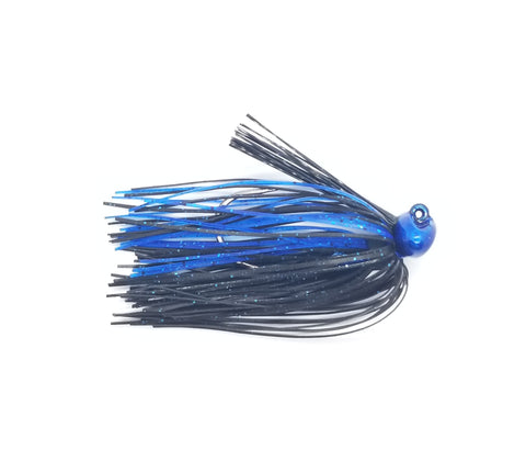 IFG Stand-Up Football JIgs (black blue)