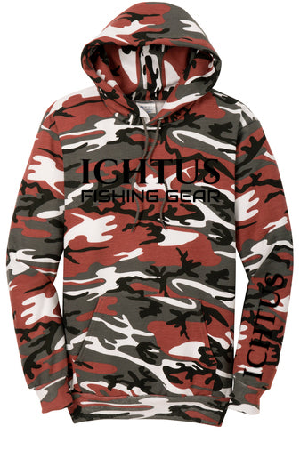 IFG CAMO Hoodie (black/red)
