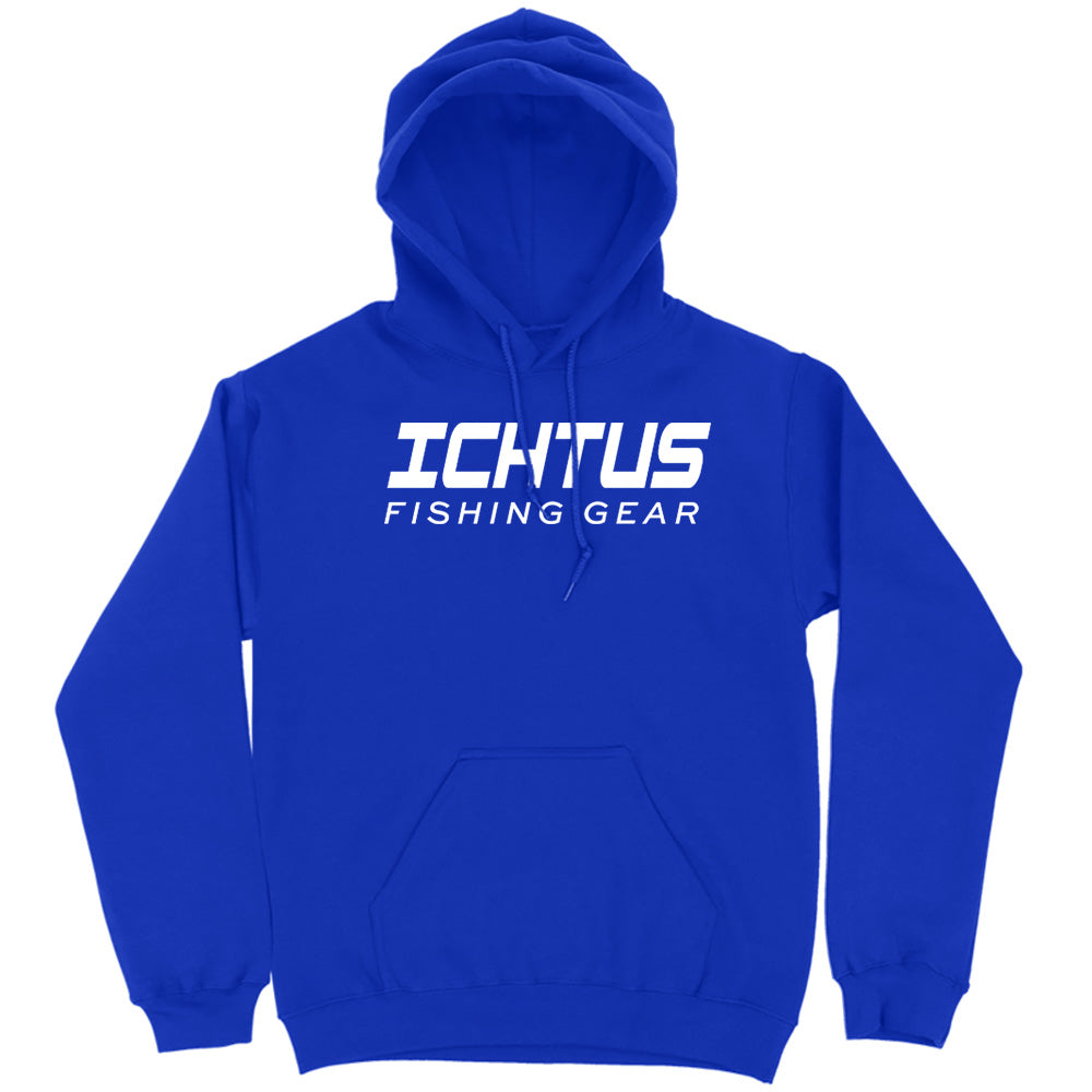 New Style Ichtus Fishing Casual Gear White Print