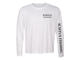 Long Sleeve Perfomance Tee (white)
