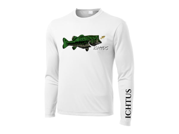 Long Sleeve Perfomance Tee (white*)
