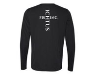 Long Sleeve Perfomance Tee (black)
