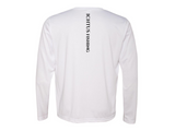 Long Sleeve Perfomance Tee (white) SOLD OUT