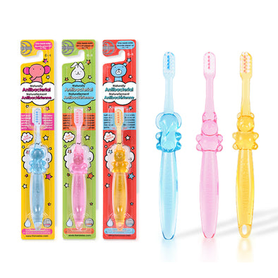 Childrens Brush for ages 0-6 (3 pack) - Thera Wise