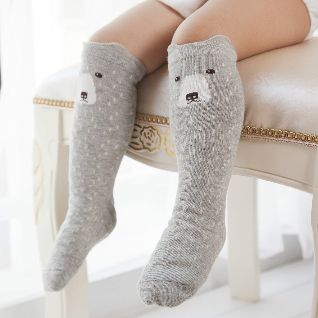 Knee High Animal Socks Hugo Co