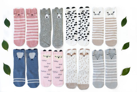 Knee High Animal Socks - Hugo & Co.
