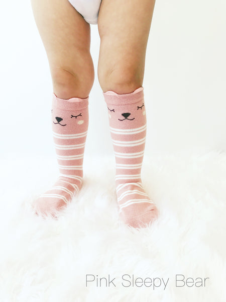 Knee High Animal Socks