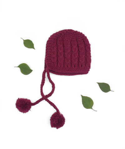 Knitted Bonnet - Hugo & Co.