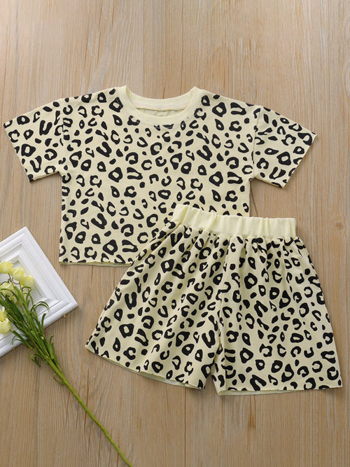 Kids Leopard Set