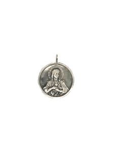 Sacred Heart Mary Pendant