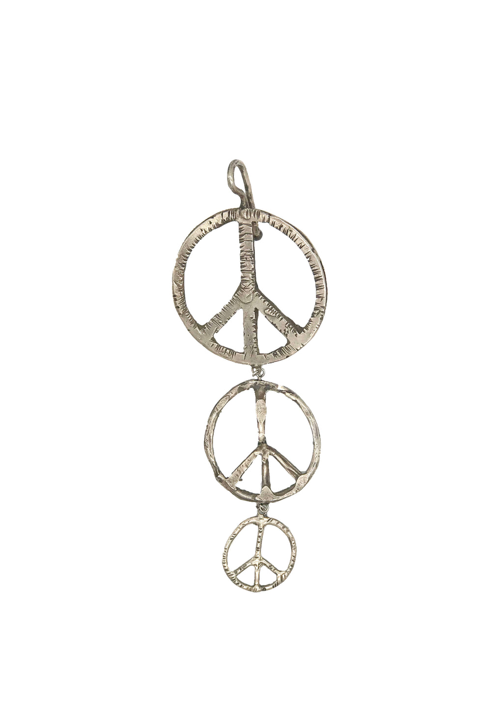 Triple Peace Sign Pendant