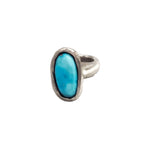 Blue Ridge Turquoise Oval ring - Stimulus