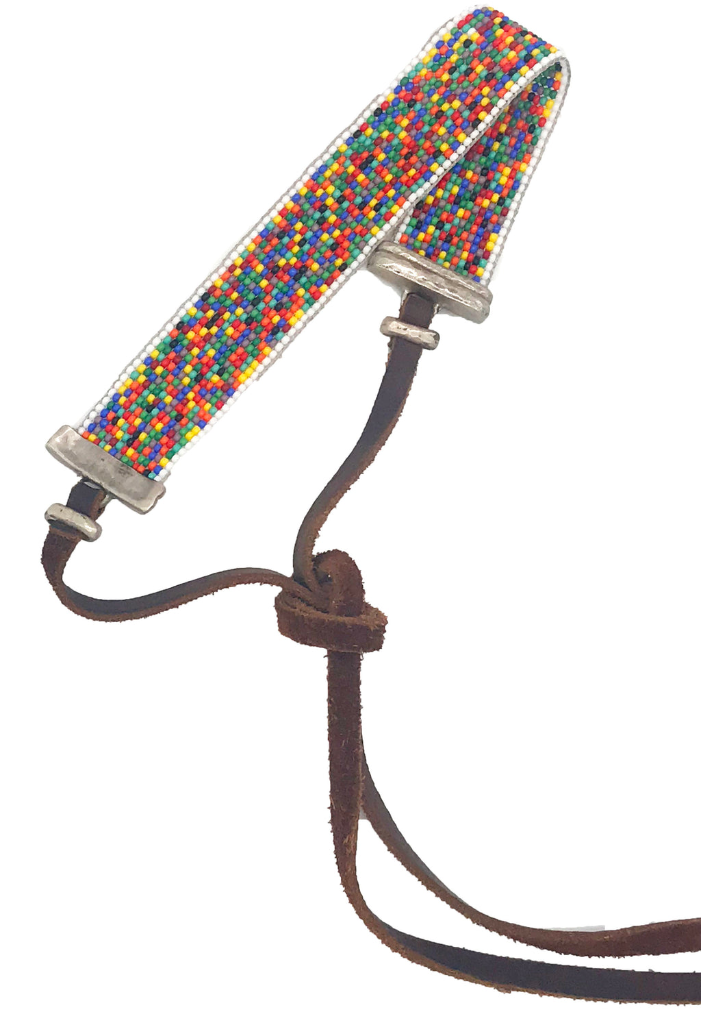 Hand Loomed Multicolor Choker