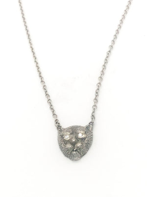 Cheetah Necklace - Diamond eyes