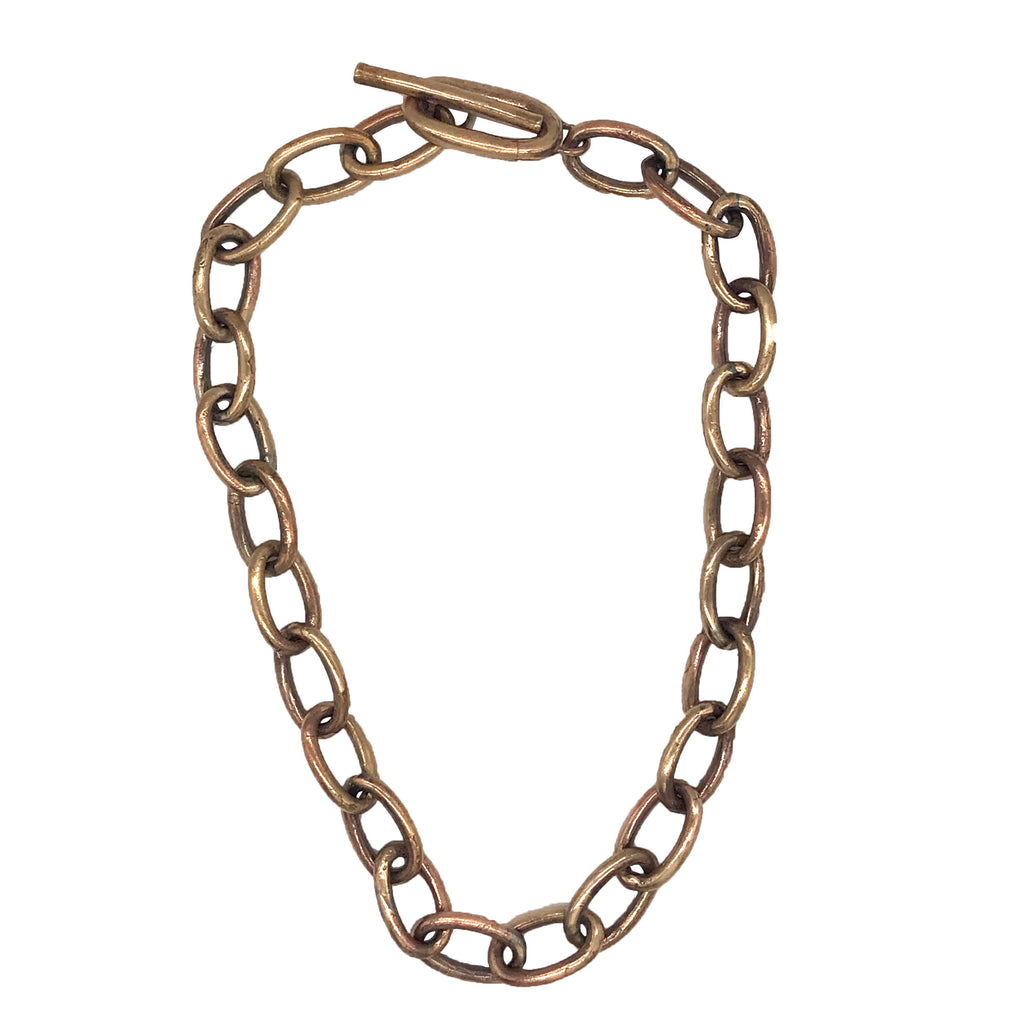 Bronze Oval Chain