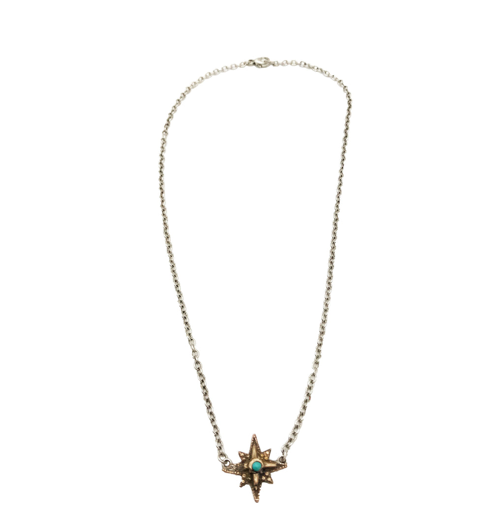 Bronze North Star Necklace