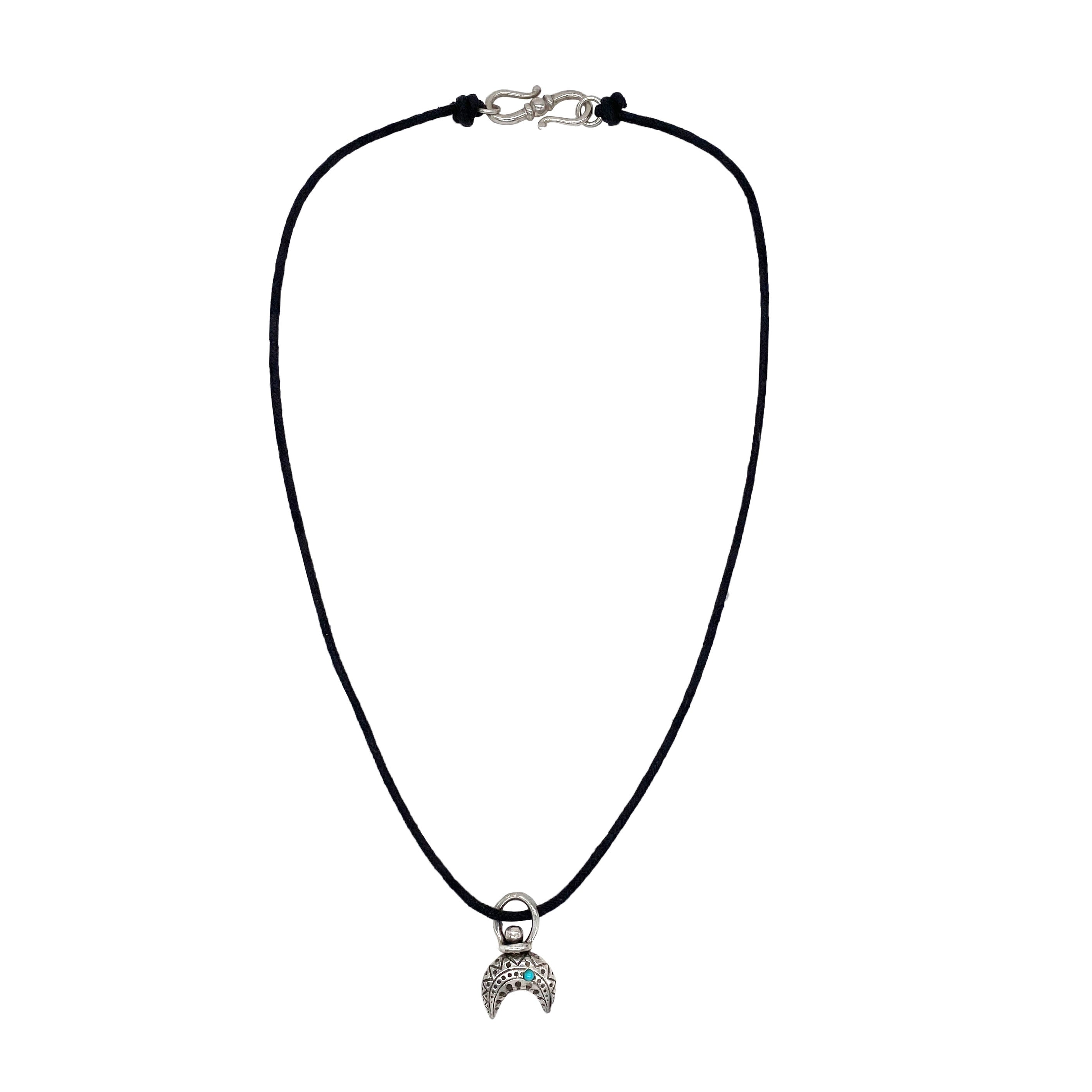 Leather Naja Necklace