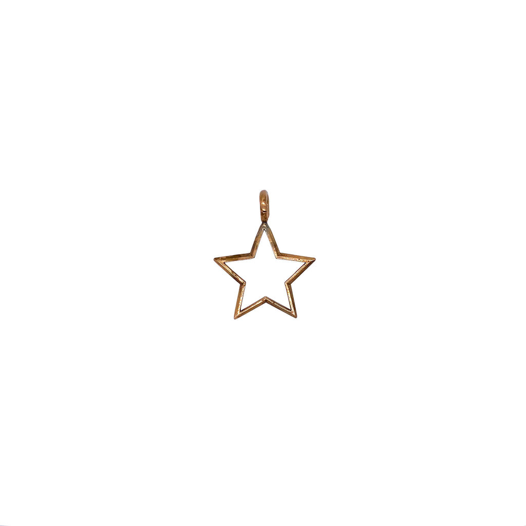 Bronze Shining Star Charm