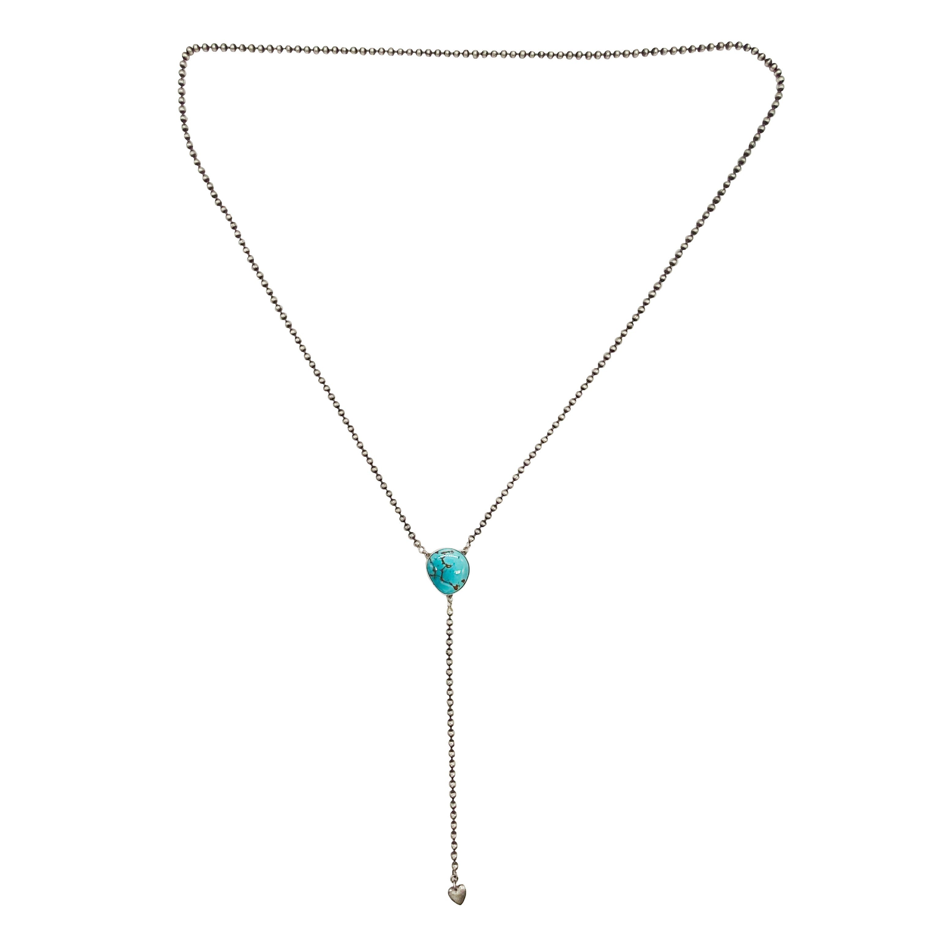Turquoise Heart Rosary