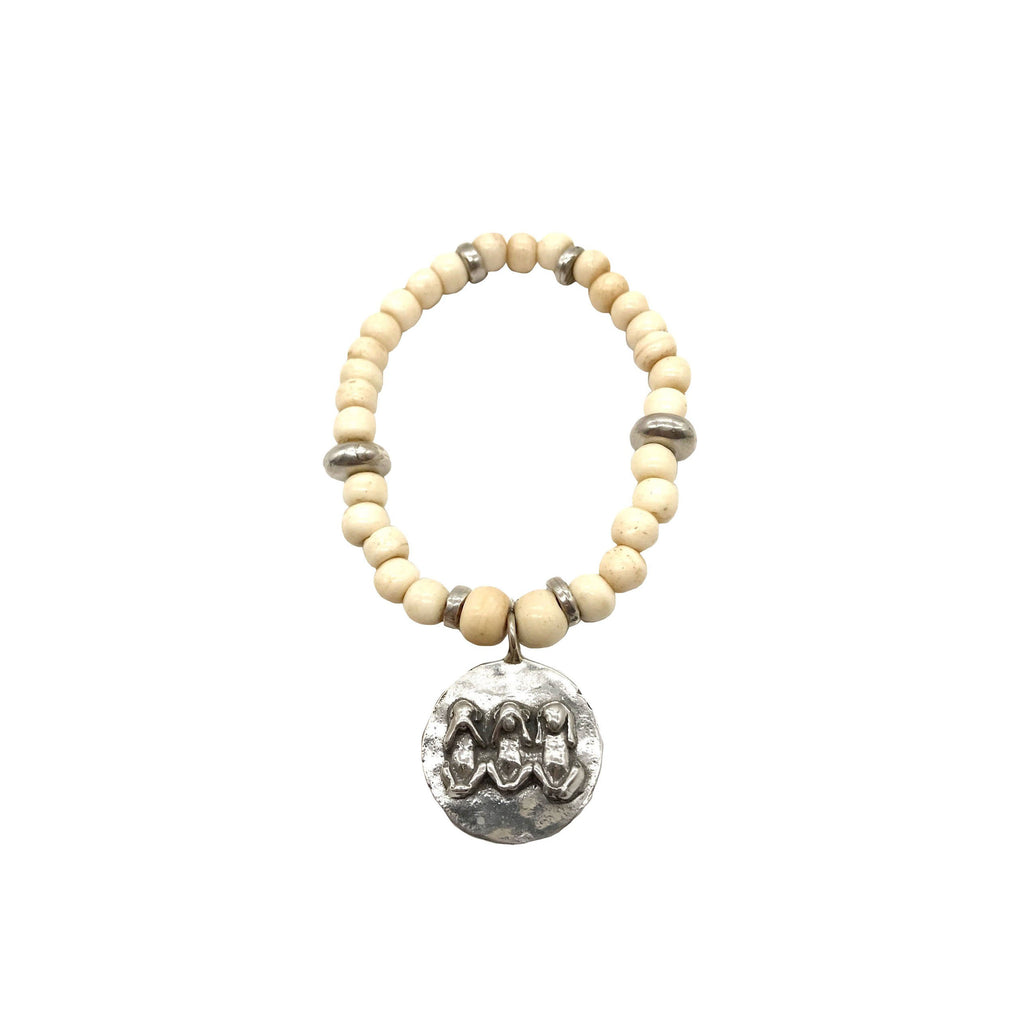 Monkey Trio Stretch Bracelet - LTJ Exclusive
