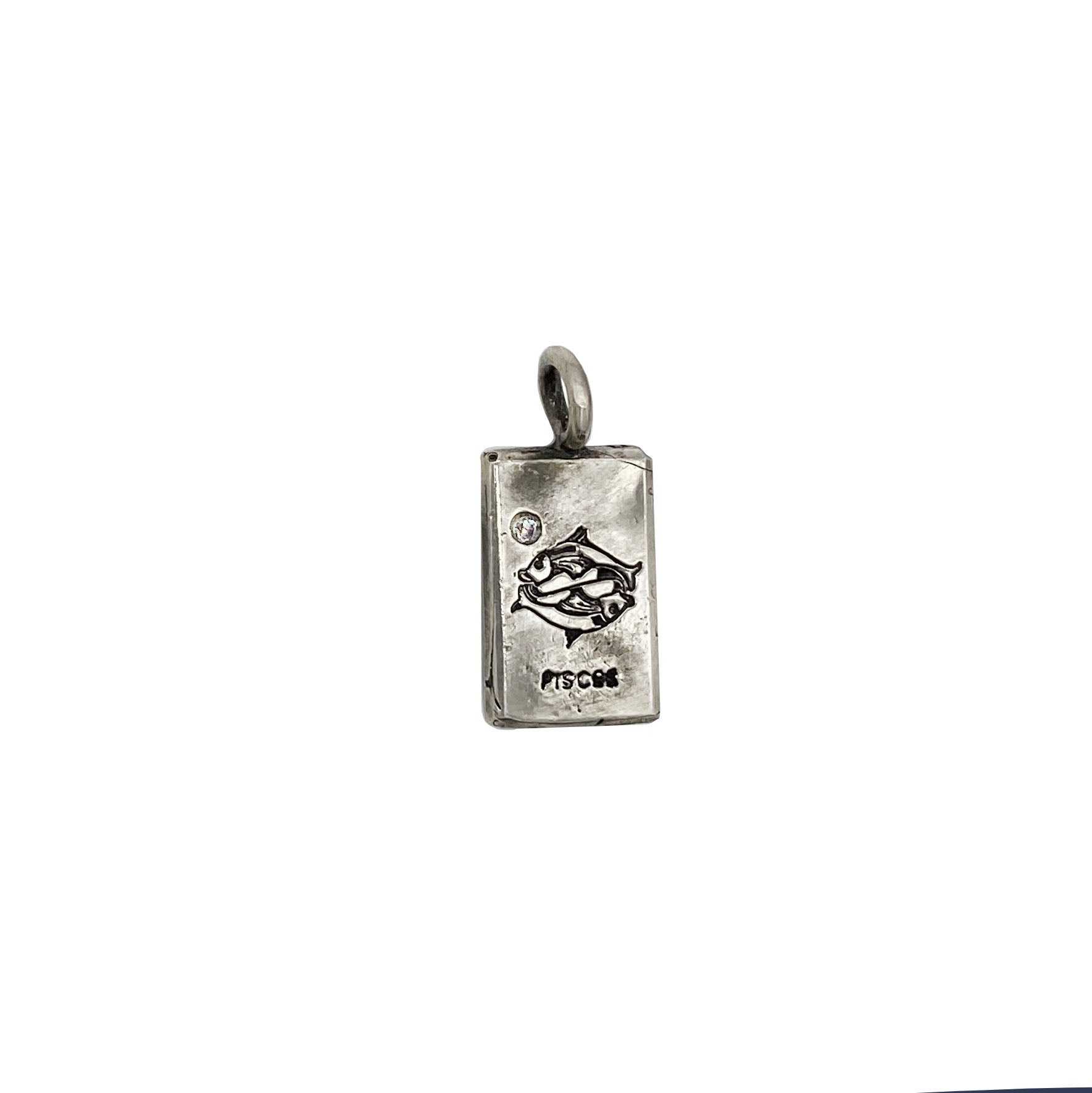 Diamond Sign In Charm