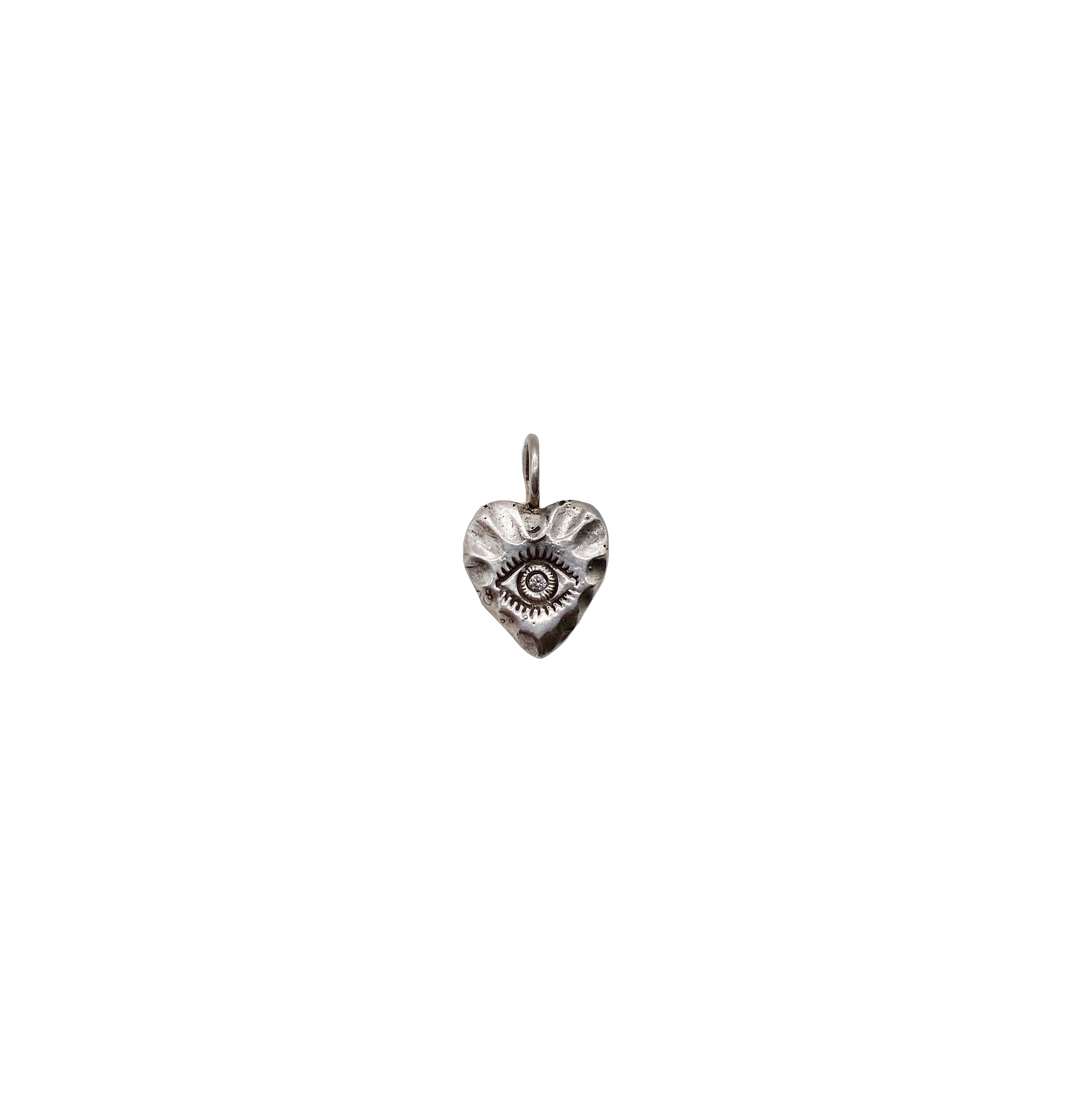 Eye of the Heart Charm