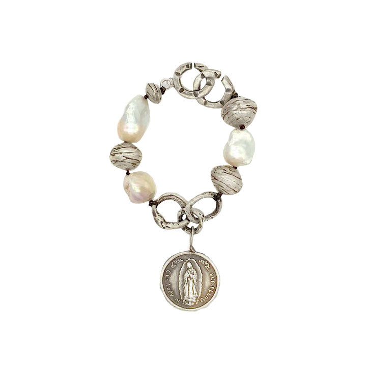 Mary Baroque Pearl Bracelet