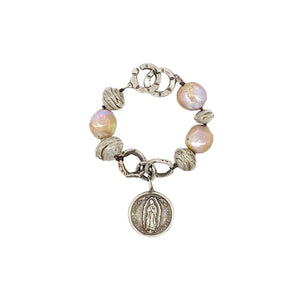 Guadalupe Baroque Pearl Bracelet