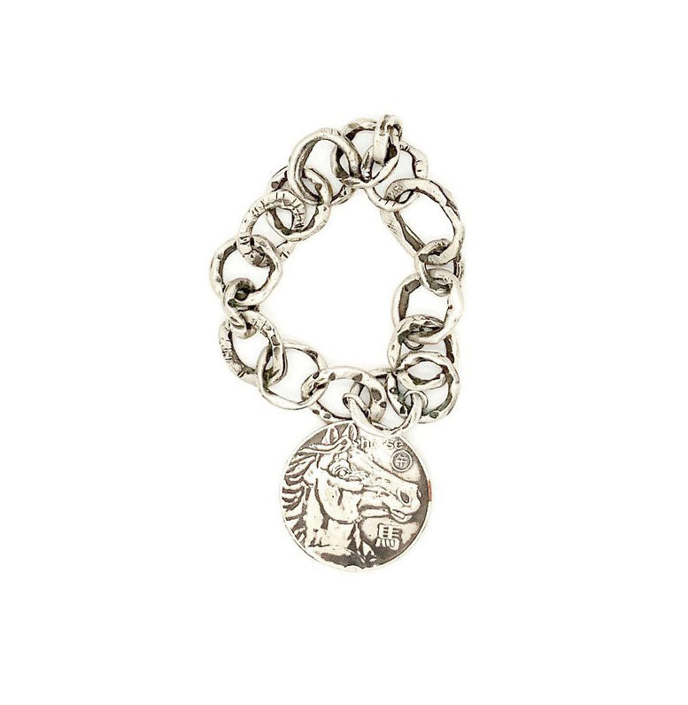 Year of the Horse Chain Bracelet