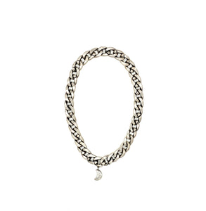 Crescent Curb Chain Necklace