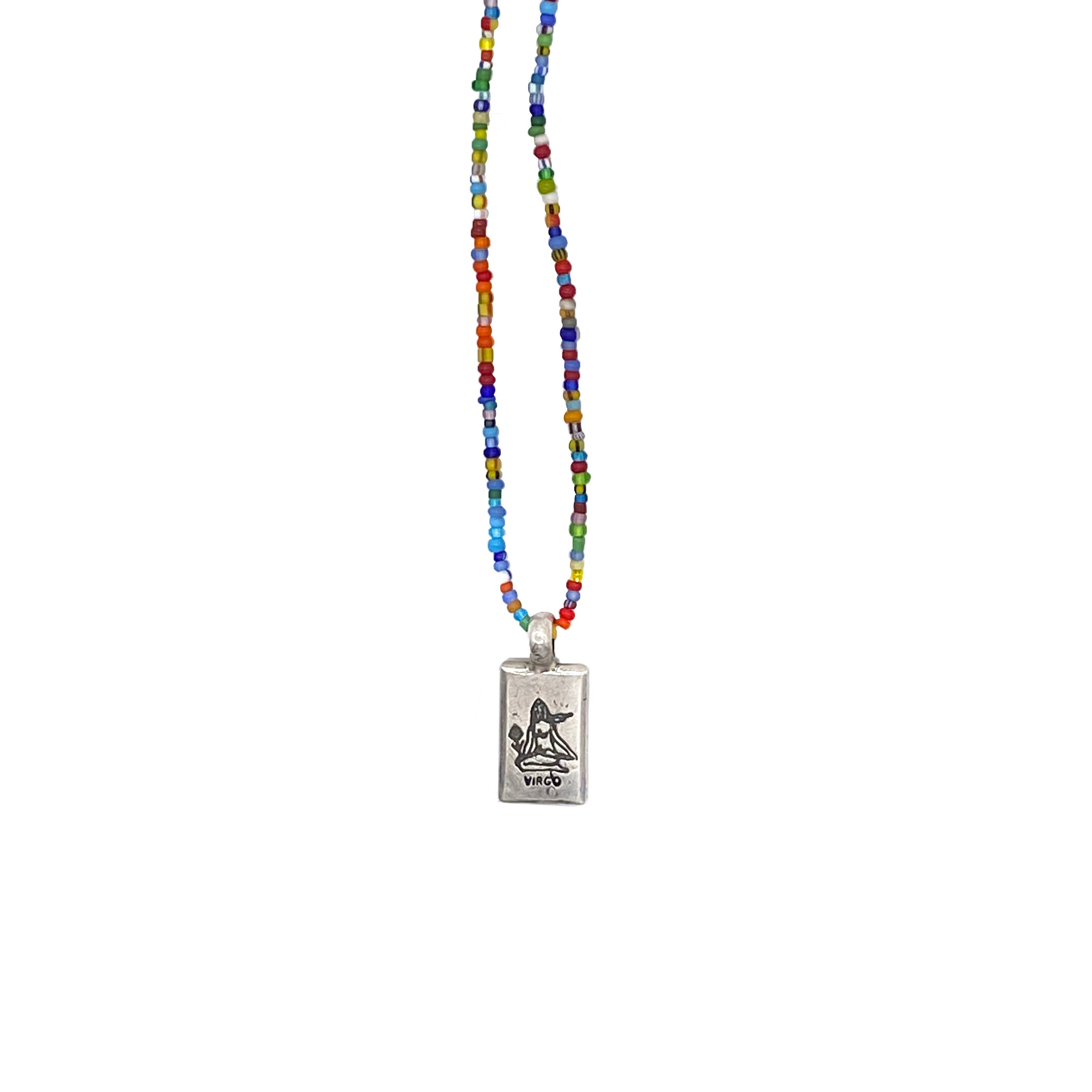 Trade Bead Zodiac Necklace